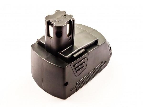 Akku für HILTI SFB125, SFB105, SBP12, SBP10, 315082 NiMH, 12V, 3000mAh, 36,0Wh, black