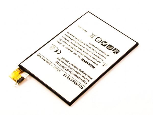 Akku für HTC ONE M7 ersetzt BN07100, 35H00207-01M