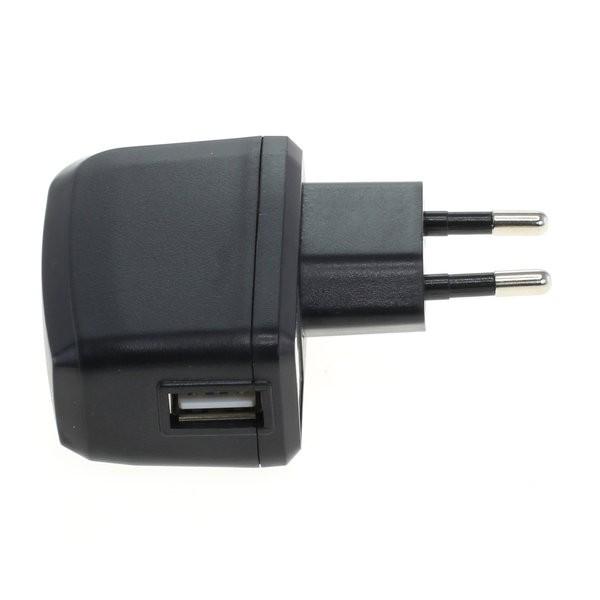 OTB LADEADAPTER USB - 2A - SCHWARZ