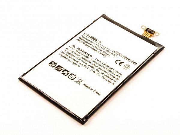 Akku für HTC WINDOWS PHONE 8X, PM23200,C625E, C625, C620E, C620, ACCORD