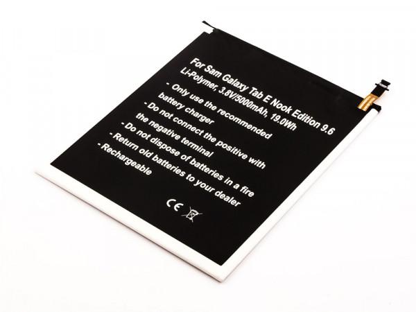 Akku für Samsung Galaxy Tab E Nook Edition 9.6, SM-T560, SM-T561, SM-T565