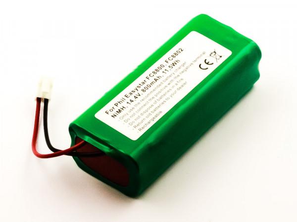 Akku für PHILIPS EASYSTAR FC8802, FC8800 ersetzt 432000000000