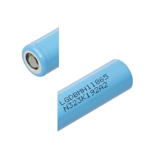 LG INR18650 MH1 3,7V / 3200mAh LiNiCoAIO2 max 10 A / 3C