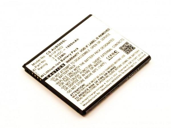 Akku für Asus X00AD, X00BD, Zenfone Go 5.0, Go ZB500KG, Go ZB500KL, B11P1602