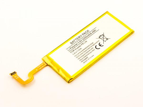 Akku für HUAWEI GR3 DUAL SIM LTE, P8 LITE, P8 LITE SMART, TAG-AL00, TAG-CL00, TAG-L01