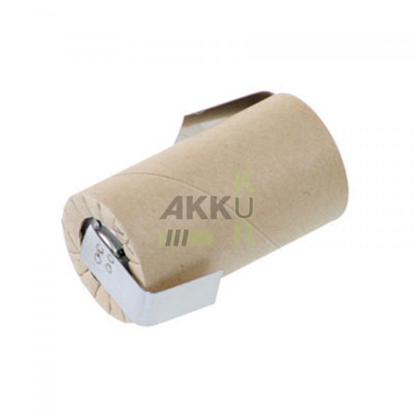 Akku PANASONIC N-1700SCR / Sub-C / 1,2V 1700mAh / Pappmantel / Ni-Cd Lötfahne Z -Form