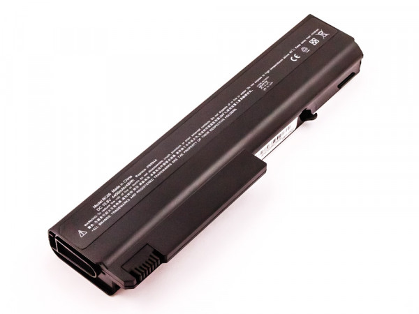 Akku für HP COMPAQ nx5100, nx6100 series, Li-ion, 10,8V, 4400mAh, 47,5Wh, black