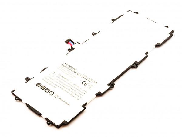 Akku für SAMSUNG Galaxy Note 10.1,Galaxy Tab 2 10.1, SP3676B1A, GH43-03562B, SP3676B1A(1S2P)