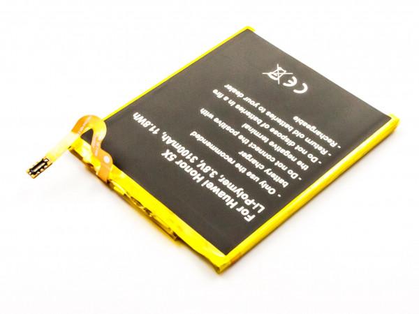 Akku für HUAWEI HONOR X5, 6, 5A, GX8 G7 Plus ASCEND Y6 ersetzt HB396481EBC