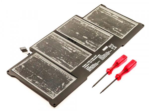 Akku für APPLE MACBOOK AIR ersetzt A1496 Li-Polymer, 7,6V, 7160mAh, 54,4Wh