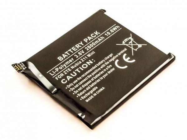 Akku für ZTE NX529J, NX529, NUBIA Z11 MINI ersetzt LI3827T44P6H726040