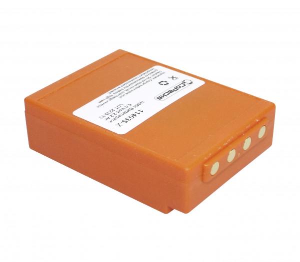 Akku für HBC Funkfernsteuerung BA225030 BA225000