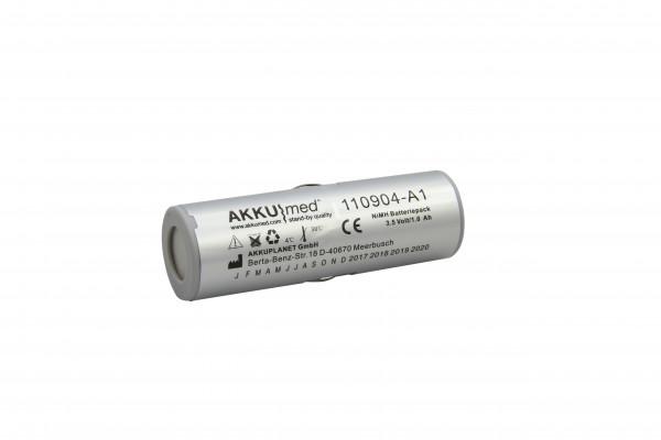 NiMH Akku passend für Heine X-02.99.382 X-002.99.382 3,5V 1000mAh