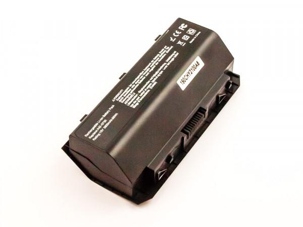 Akku für Asus ersetzt A42-G750 Li-ion, 15V, 5900mAh, 88Wh