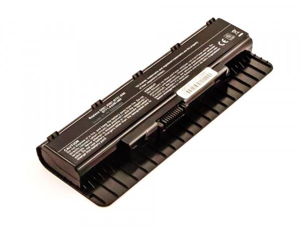 Akku für ASUS ersetzt A32N1405 Li-ion, 11,1V, 5200mAh, 57,7Wh, black