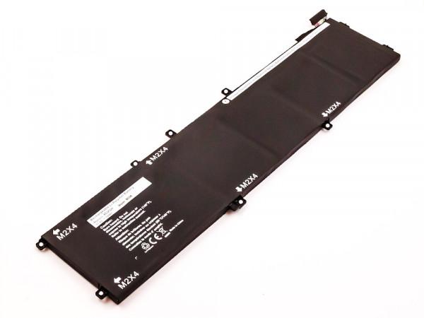 Akku für Dell Precision 5510, M5510, XPS 159550 ersetzt 01P6KD, 1P6KD, 4GVGH, M7R96, RRCGW, T453X
