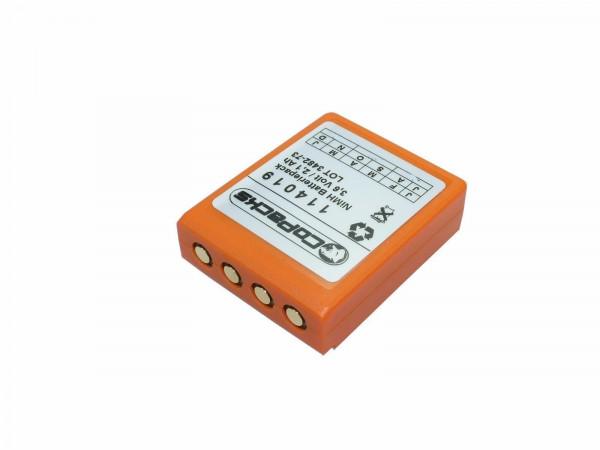 Akku für HBC BA223000 / BA223030 / FuB6N 3,6V 2100mAh