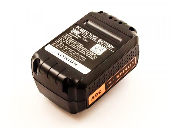 Akku für BLACK&DECKER ersetzt GWC3600L/L20, GWC3600L, GTC3655L/L20, GTC3655L