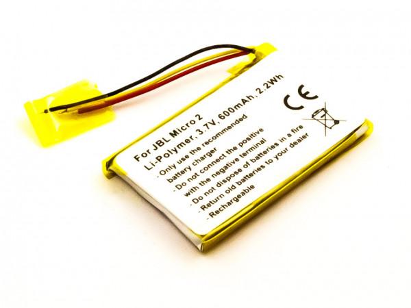 Akku für JBL Micro 2, Micro II ersetzt FT403048P