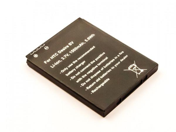 Akku für HTC DESIRE SV, THUNDERBOLT 2 ersetzt 35H00168-06M, 35H00168-03M, 35H00168-02M