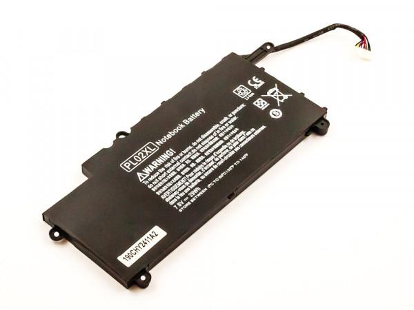 Akku für HP Pavilion 11 X360, 11-N000, TPN-C115 ersetzt 751681-421, HSTNN-LB6B, PL02XL