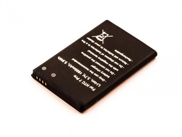 Akku für HTC 7 PRO, T7576 ersetzt BA S550, 35H00123-29M