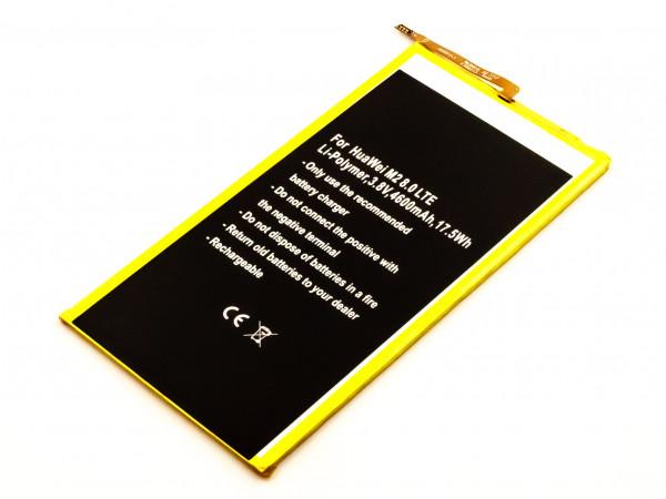 Akku für HUAWEI M2 8.0 LTE ersetzt HB3080G1EBW