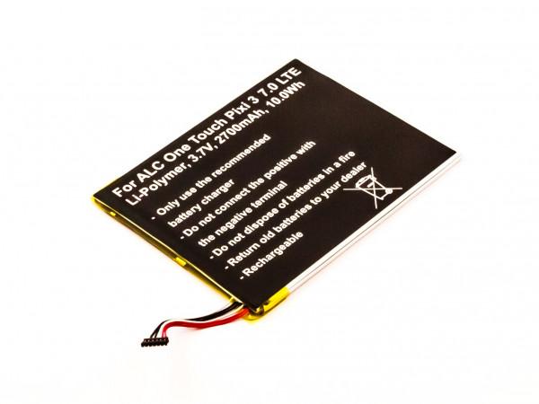 Akku für ALCATEL ONE TOUCH PIXI 3 7.0 4G, 3 7.0 LTE ersetzt TLP028A2