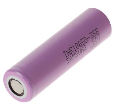Samsung INR18650 35E 3,6 V / 3450 mAh LiNiCoAlO2 3C / 10,5A
