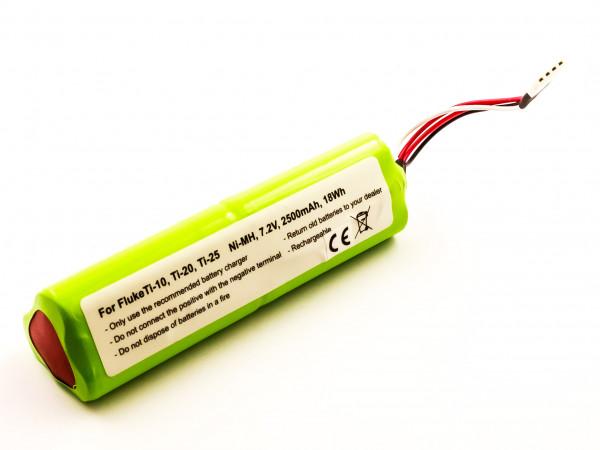 Akku für FLUKE TI-10, TI-20, TI20-RBP, TI-25 ersetzt 3105035