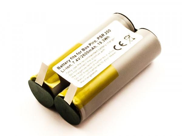 Akku für Bosch AGS 7.2 Li, Piro, Piro 7.2 Li, PKP 7.2 LI, PSR 200, PSR 200 LI, PSR 7.2 LI , BST200