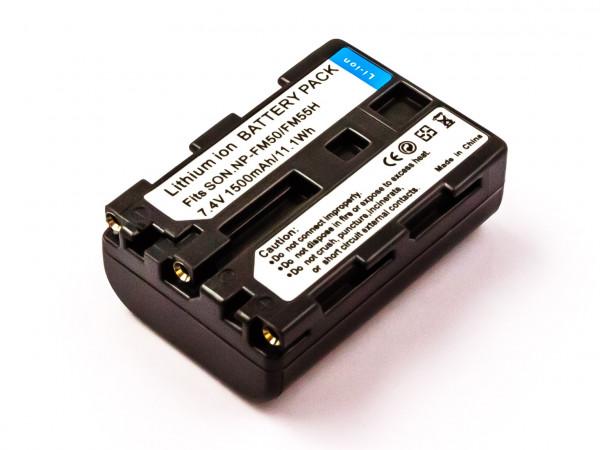 Akku für SONY ersetzt NP-FM50, NP-FM30, NP-QM51, NP-QM50, NP-FM51, NP-FM55H