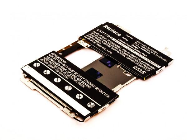 Akku für BLACKBERRY PLAYBOOK 64GB, 32GB, 16GB ersetzt 921600001, 916TA029H