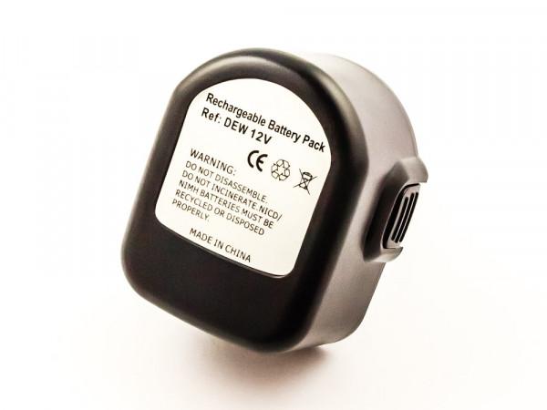 Akku für BLACK & DECKER ersetzt PS130, A9275, A9252, PS130A, 571510, 571513