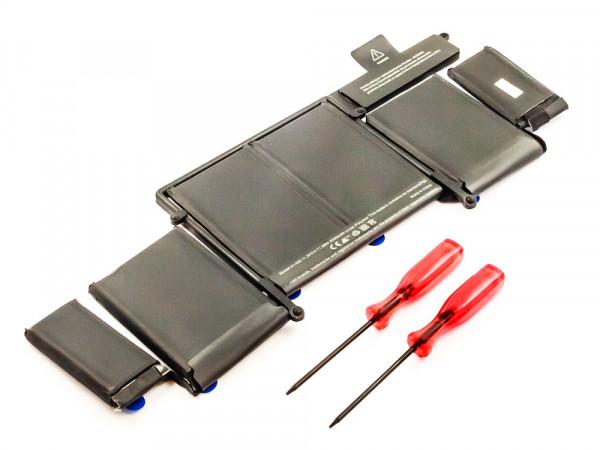 """Akku für APPLE ersetzt A1493 for Macbook Pro 13"""" A1502 (late 2013), Li-Polymer, 11,34V, 6330mAh, 71"""