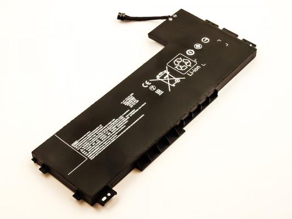 Akku für HP ZBook 15 G3, 17 G3 ersetzt 808398-2B1, 808398-2C1, HSTNN-DB7D, VV09XL