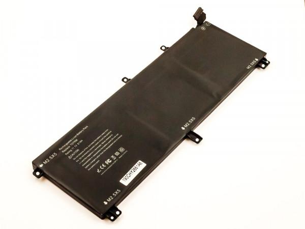 Akku für Dell Precision M3800 Series, XPS 15 9530 ersetzt 07D1WJ, 0H76MY, H76MBV, H76MY, T0TRM