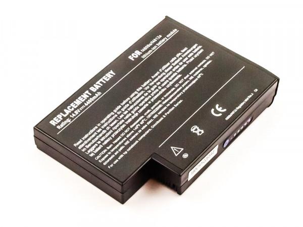Akku für Compaq 916-2150, F4098A, F4809, F4809-60901371786-001, 372114-001, 372114-002 F4812A