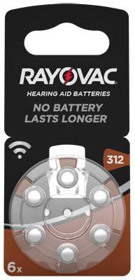 RAYOVAC Hörgerätebatterie HA312 Hearing Aid, Acoustic
