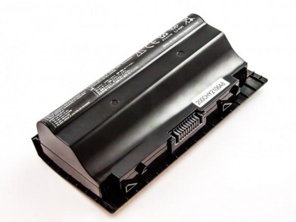 Akku für Asus ersetzt A42-G75 Li-ion, 14,4V, 5200mAh, 74,9Wh, black