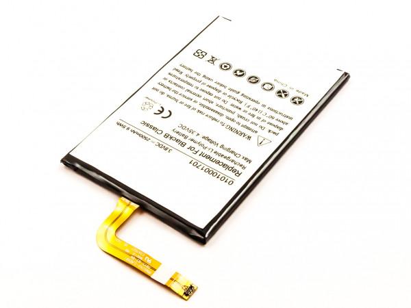 Akku für BLACKBERRY SQC100-5, SQC100-4,CLASSIC 4G BPCLS00001B, 1ICP4/59/93