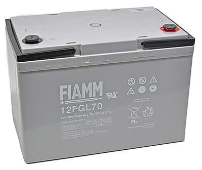 Fiamm Blei-Akku 12FGL70 Pb 12V / 70Ah 10-Jahresbatterie M6