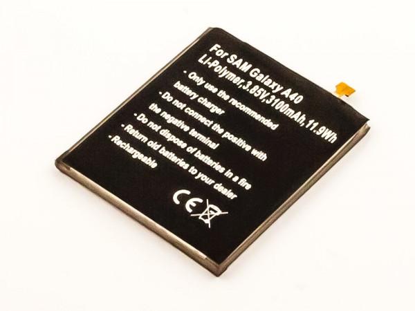 Akku für Samsung Galaxy A40, Galaxy A40 2019 ersetzt EB-BA405ABE, GH82-19582A