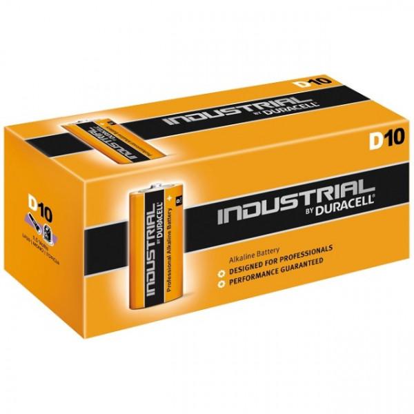DURACELL 6AM6 (9V Block) ID1604 Industrial 10er Karton