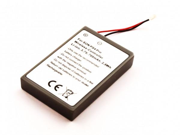 Akku für Sony PS4 PRO WIRELESS CONTROLLER, LIP1522 - NEW VERSION (CONNECTOR)