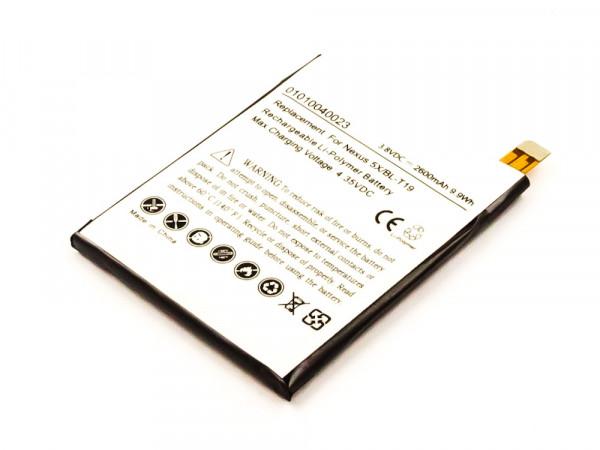 Akku für LG NEXUS 5X LTE, NEXUS 5X ersetzt BL-T19