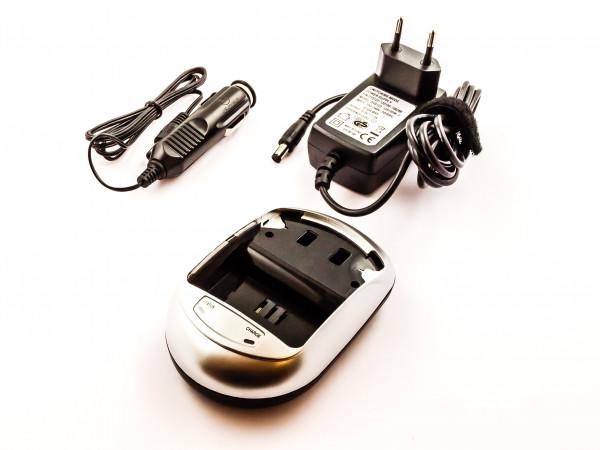 Ladegerät Universal für Akkus von Kamera, Videocamera, Camcorde