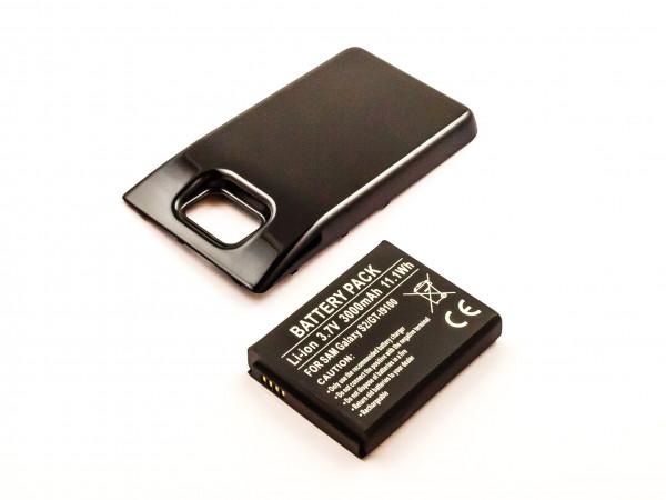 Akku für SAMSUNG GT-I9100, GALAXY S II, GALAXY S 2 ersetzt EB-L102GBK, EB-F1A2GBU