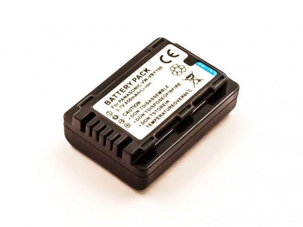 Akku für PANASONIC HC-V201, HC-V110P-K, HC-V110P, HC-V110K, HC-V110GK,VW-VBY100