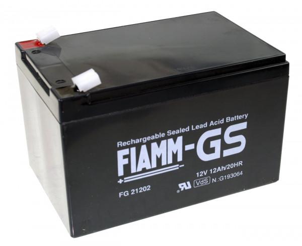 Fiamm Blei-Akku FG10721 Pb 6V / 7,2Ah Faston 4,8